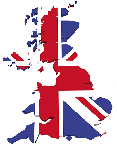 Web Design UK Map