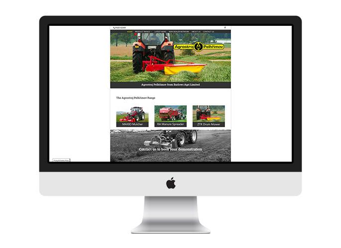 Web Design UK Portfolio Agrostroj
