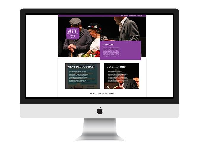 Web Design UK Portfolio Amic Touring Theatre