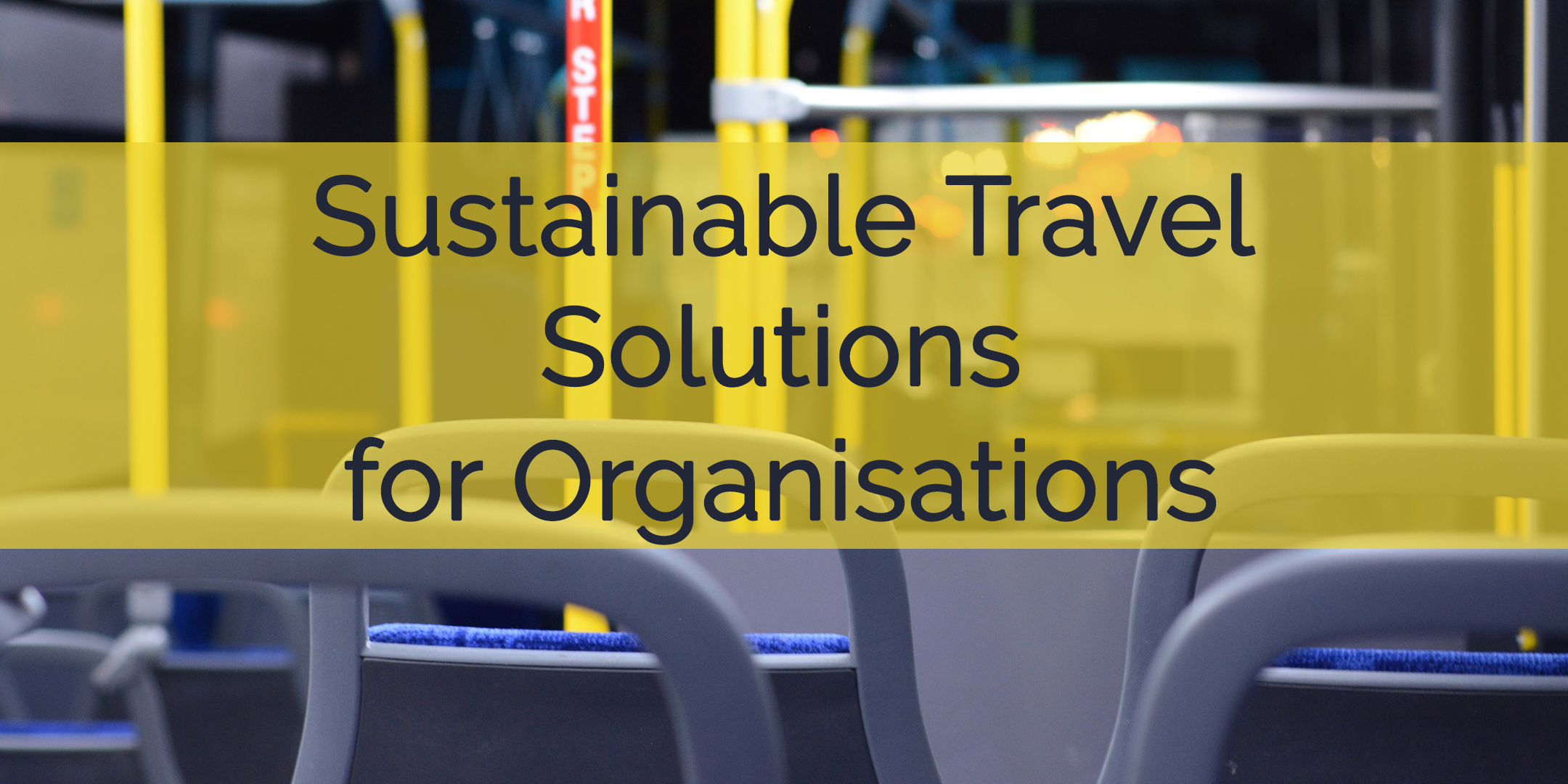 Sustainable Travel UK Webinar