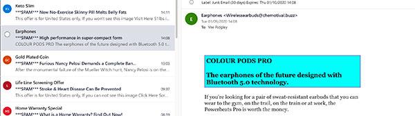 web-design-uk-junk-email