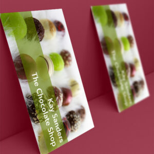 Business Cards Luxury Soft Touch Single Sided