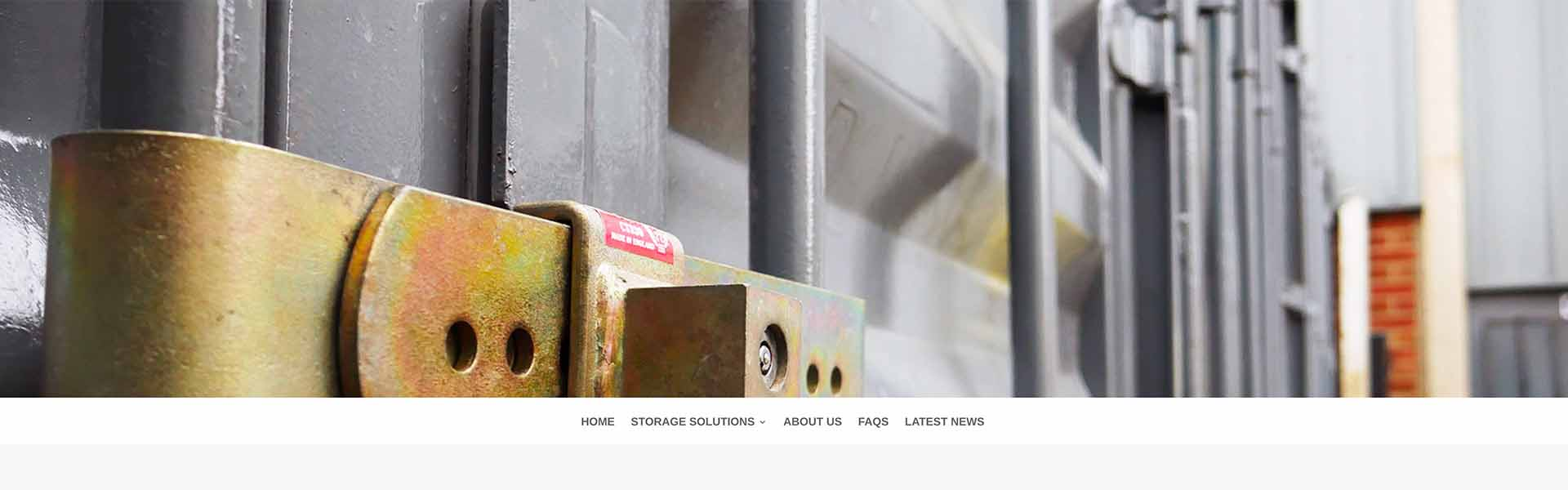 Web Design UK Portfolio Manor Road Storage