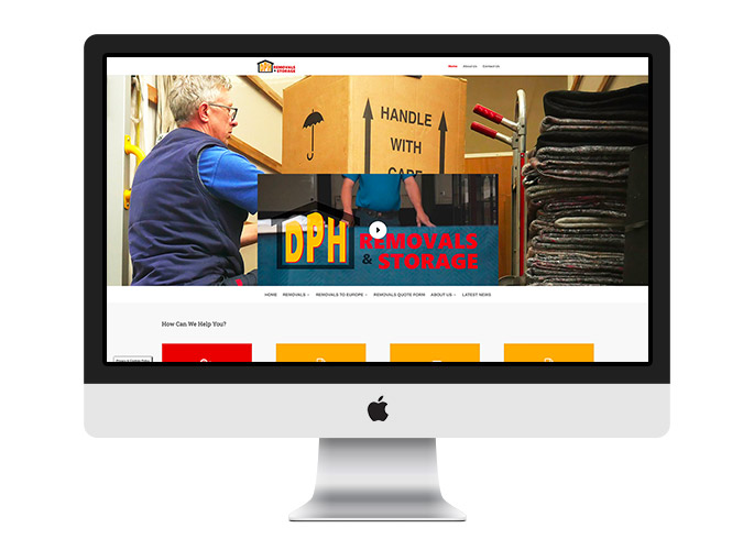 Web Design UK Portfolio DPH Removals
