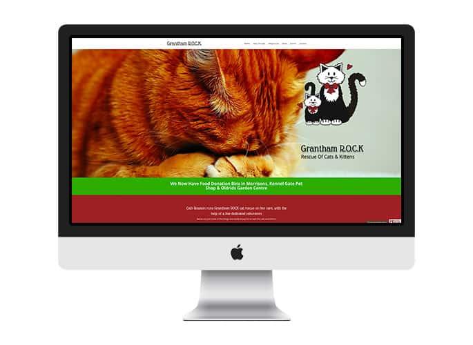 Web Design UK Portfolio Grantham Rock