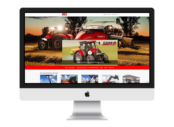 Web Design UK Portfolio PGF Agri