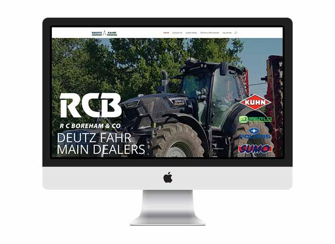 Web Design UK Portfolio RC Boreham